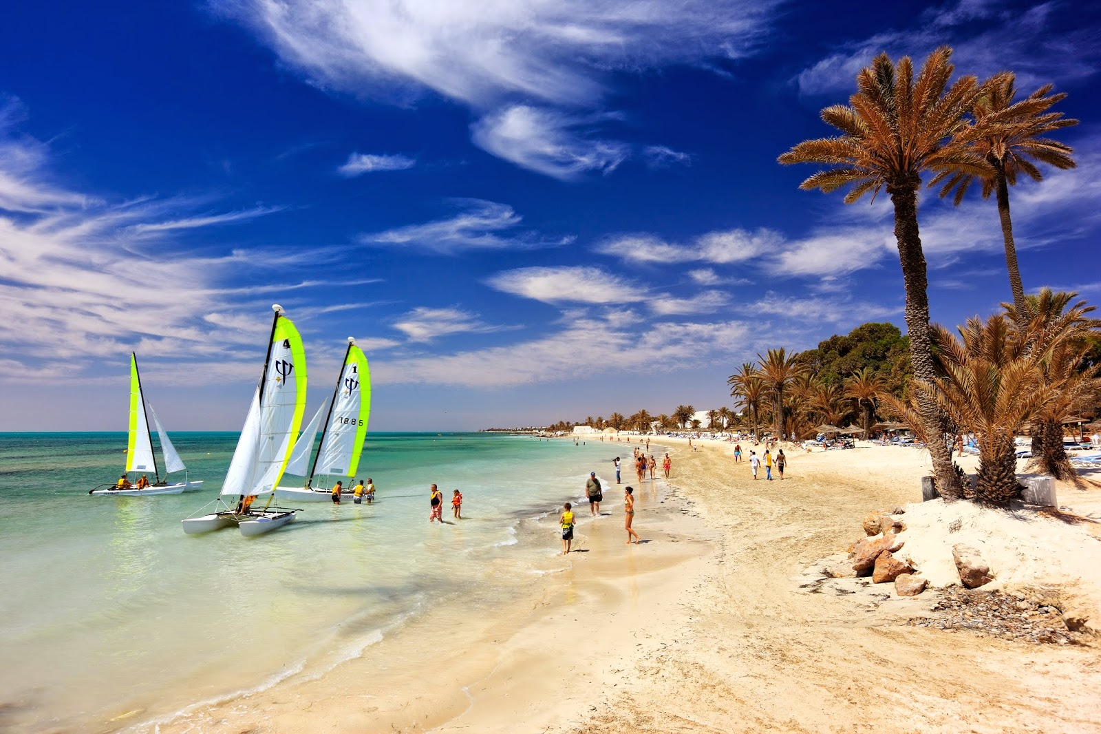 Пляж джерба тунис фото