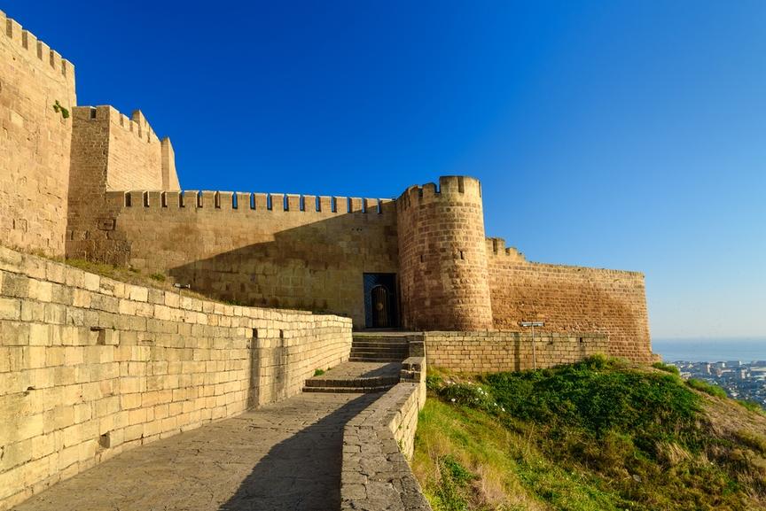 Картинки крепости дербента