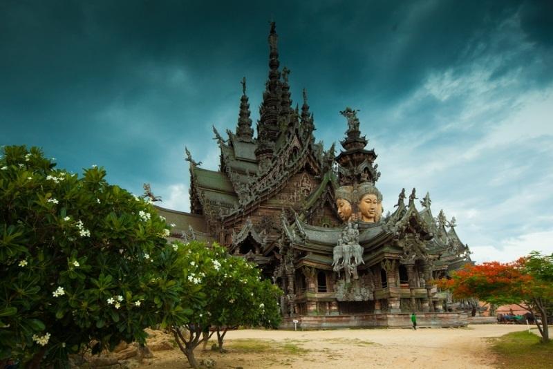 храм истины в тайланде фото и