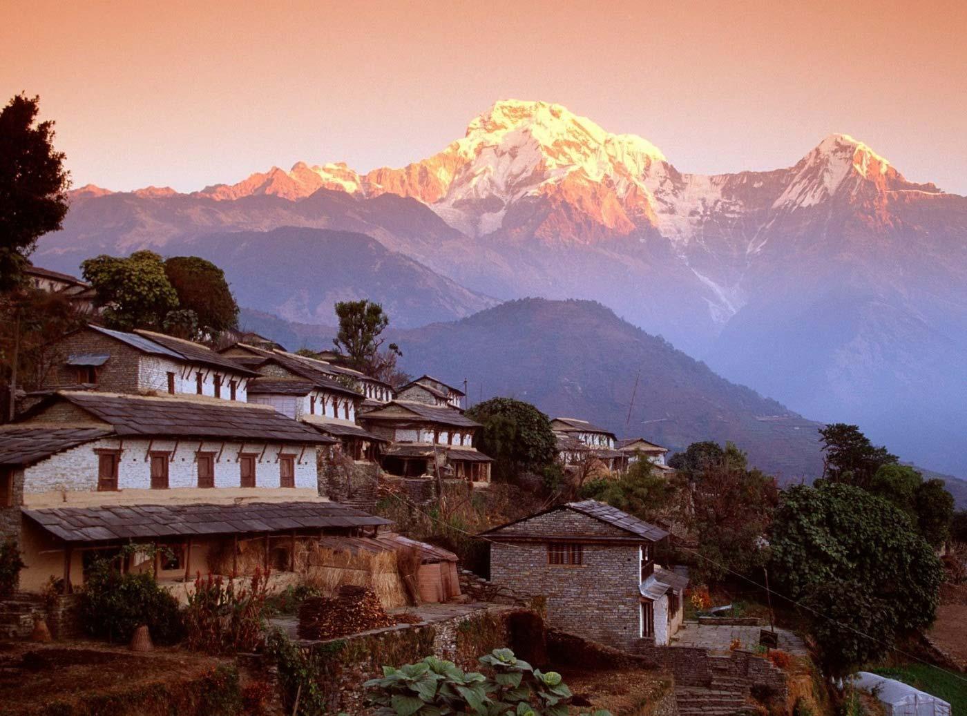Горная природа и исторические памятники Непала