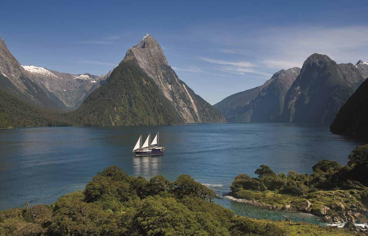 Новая Зеландия Image: Новая Зеландия, Океания. Достопримечательности и фото