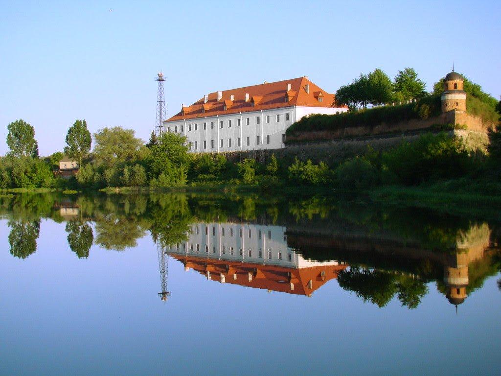 Фото крепости в дубно