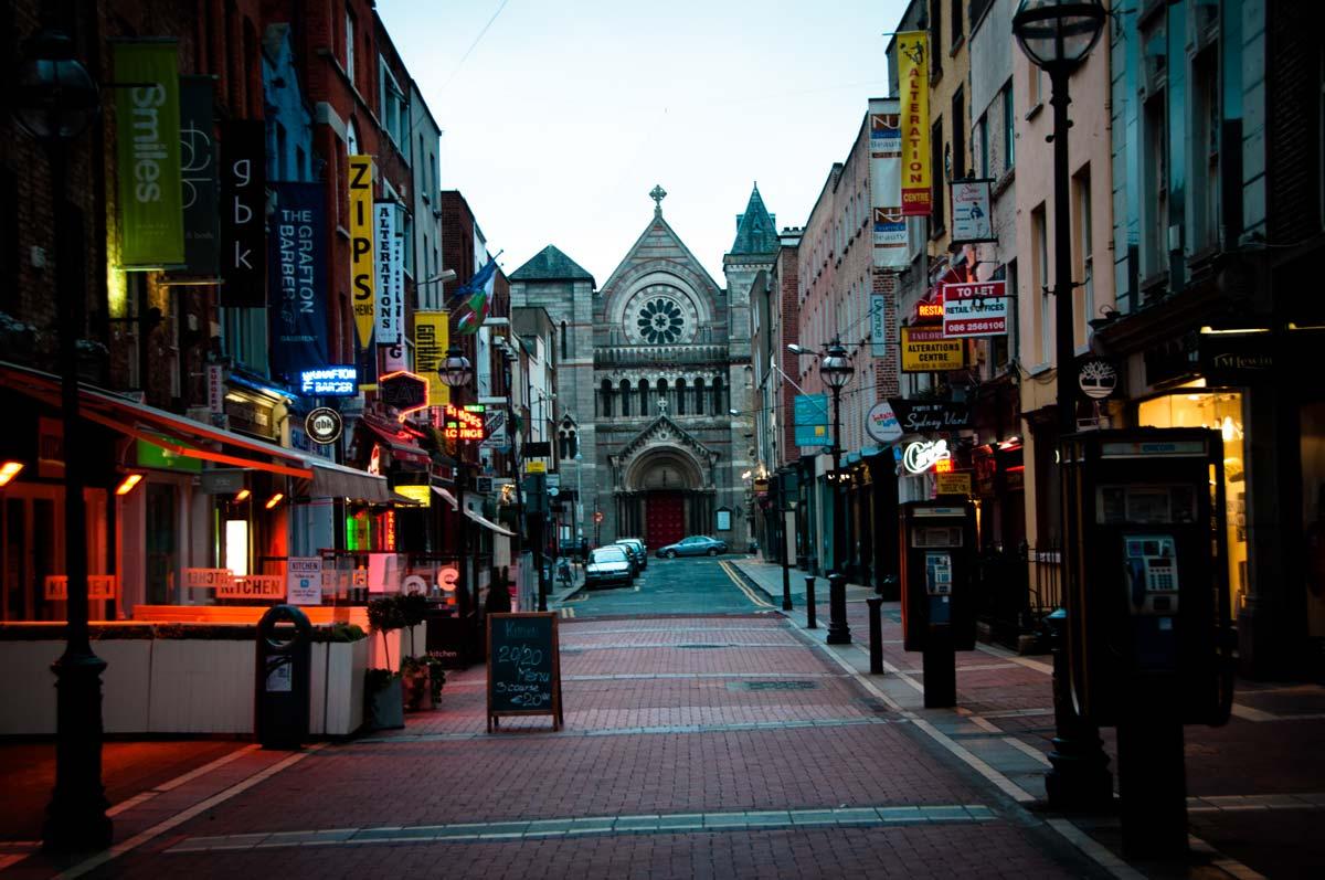 Дублин фото города