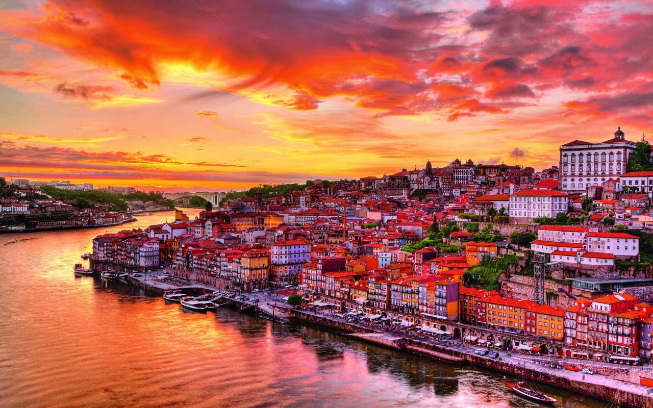 Обои Португалия, старый город, порто. Города foto 12