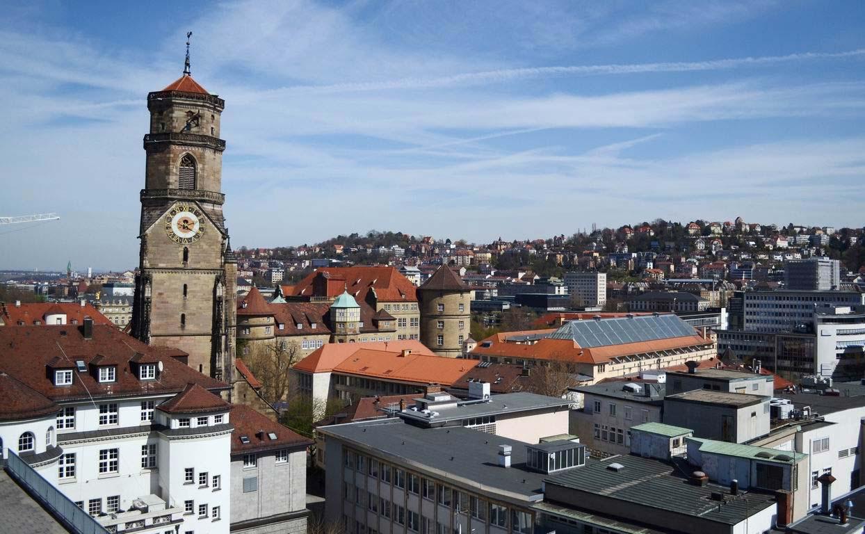 город штутгарт в германии фото