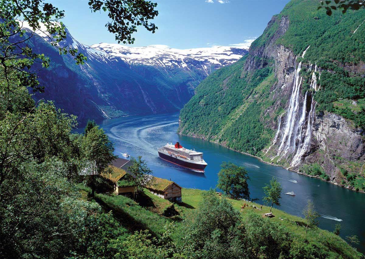 Открытках, картинки норвегия достопримечательности