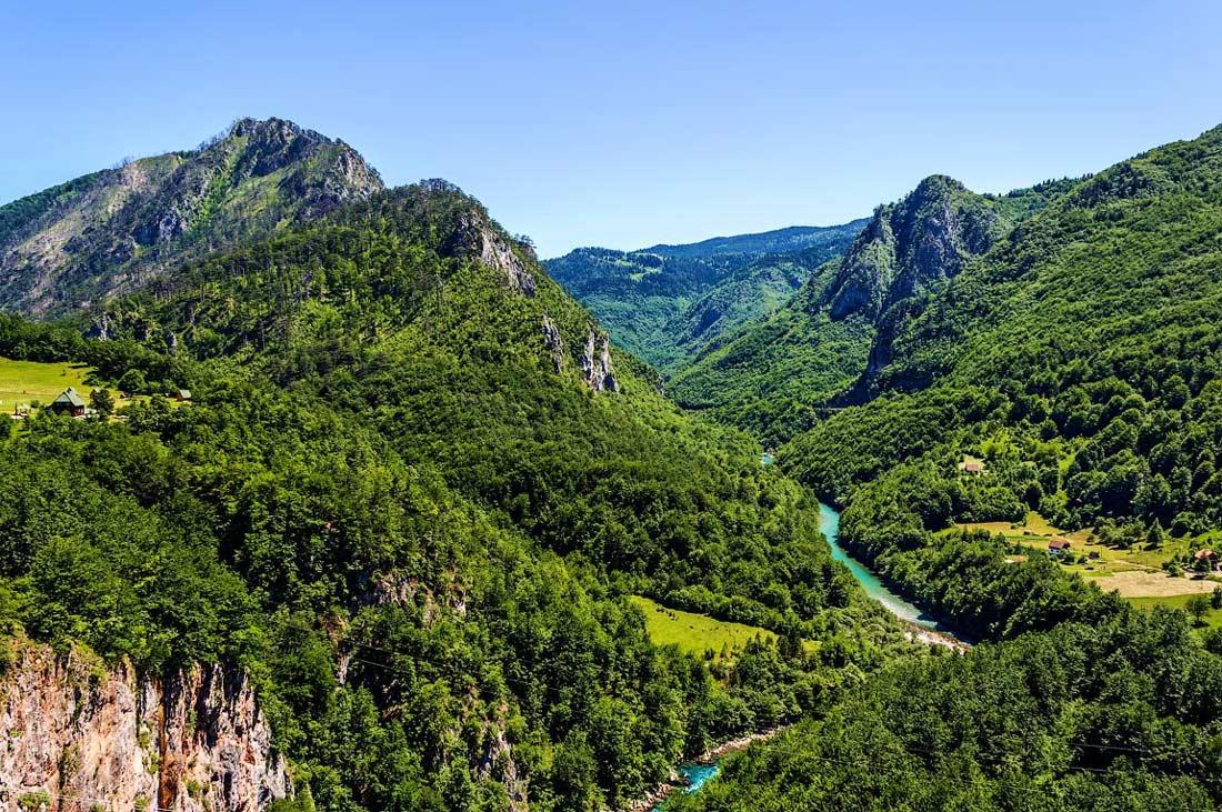 Каньон тара черногория фото