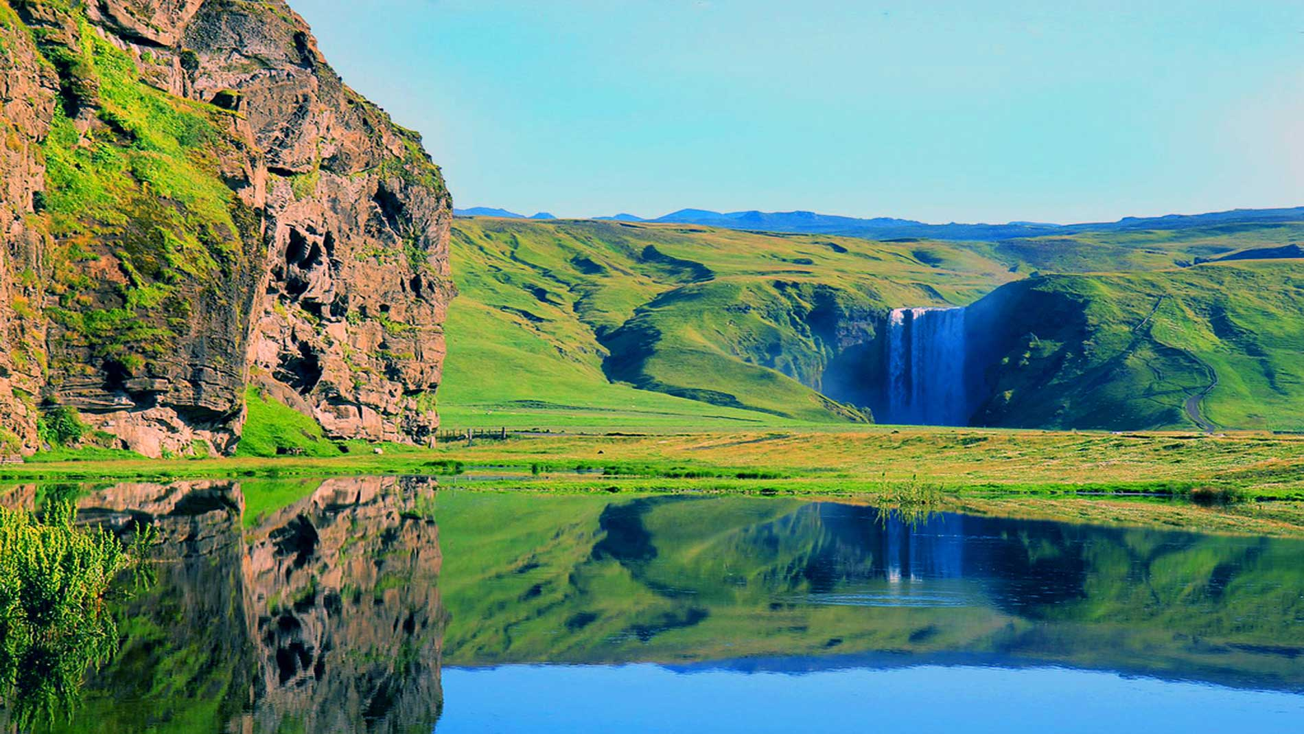 the background information of republic of iceland