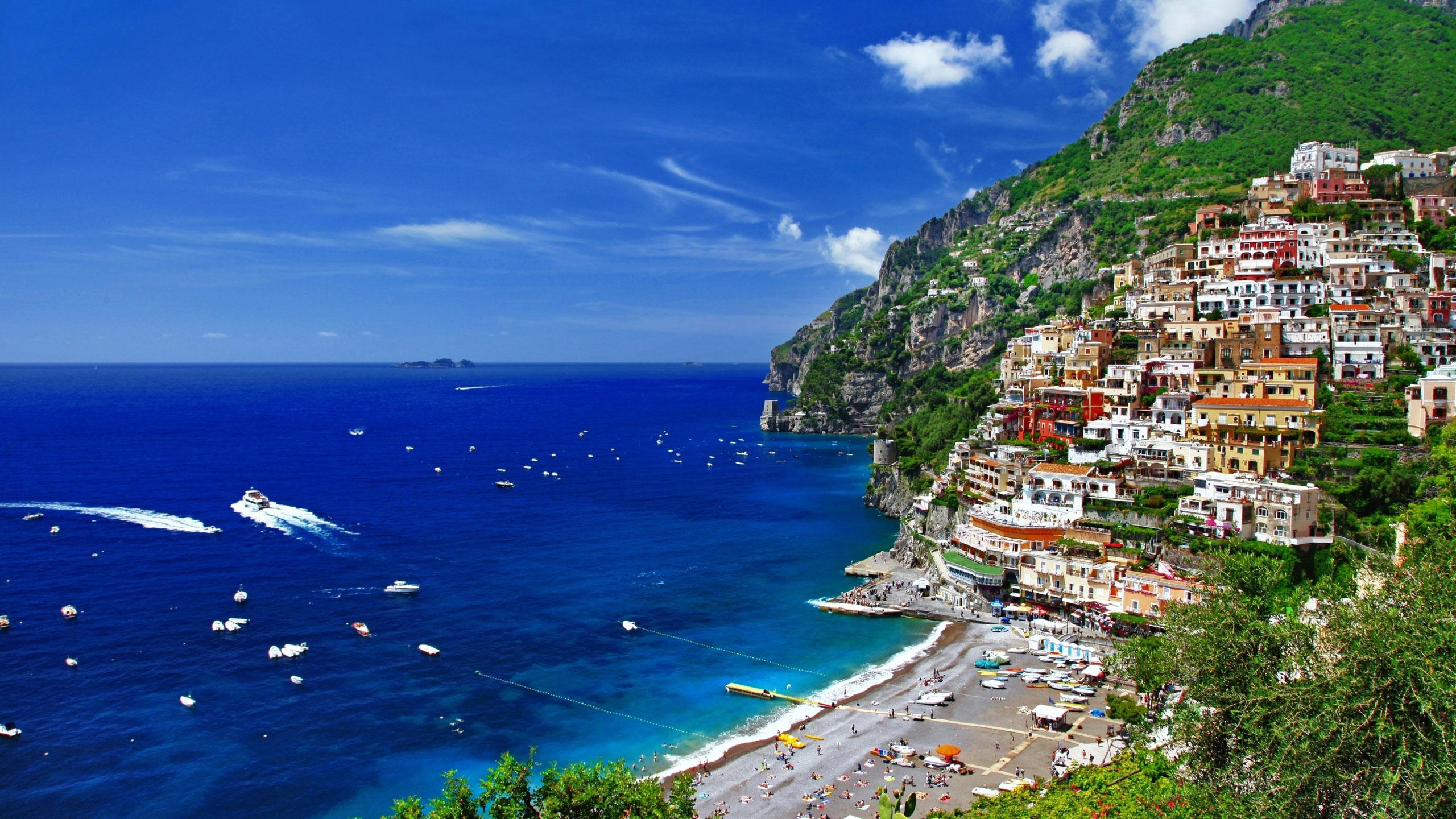 италия пляжи обои на рабочий стол № 507051 без смс