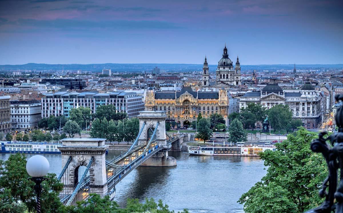 Красивая Венгрия в сентябре