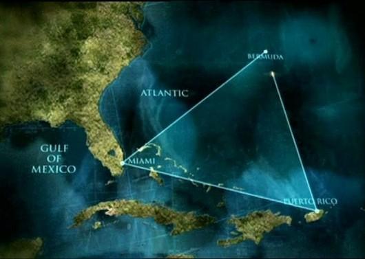 Бермудский треугольник-карта