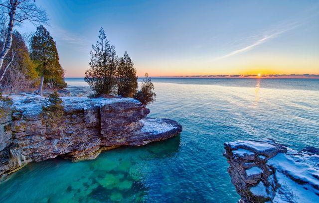фото мичиган озеро