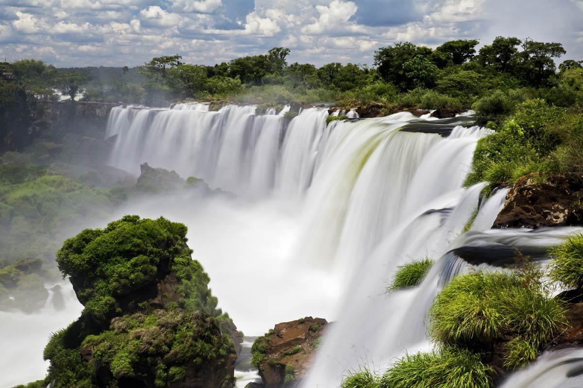 Самые высокие водопады мира в картинках